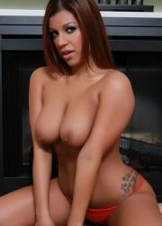 Briana Lee Extreme Brown Dildo Fuck - Picture 8